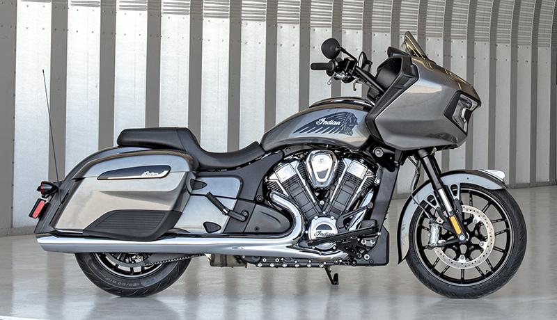 review 2020 indian motorcycle challenger titanium metallic