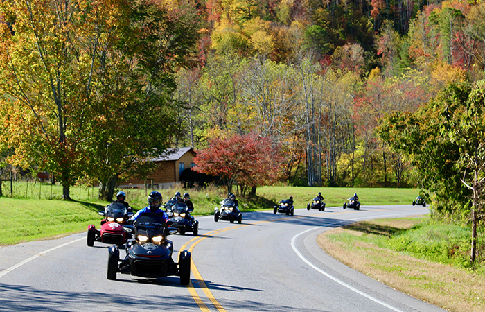 how a ride on a can-am spyder changed one female veterans life cherahola parkway