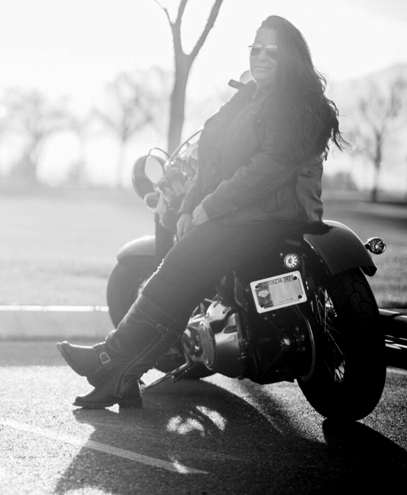 motorcycling dreams esther holmes softail slim