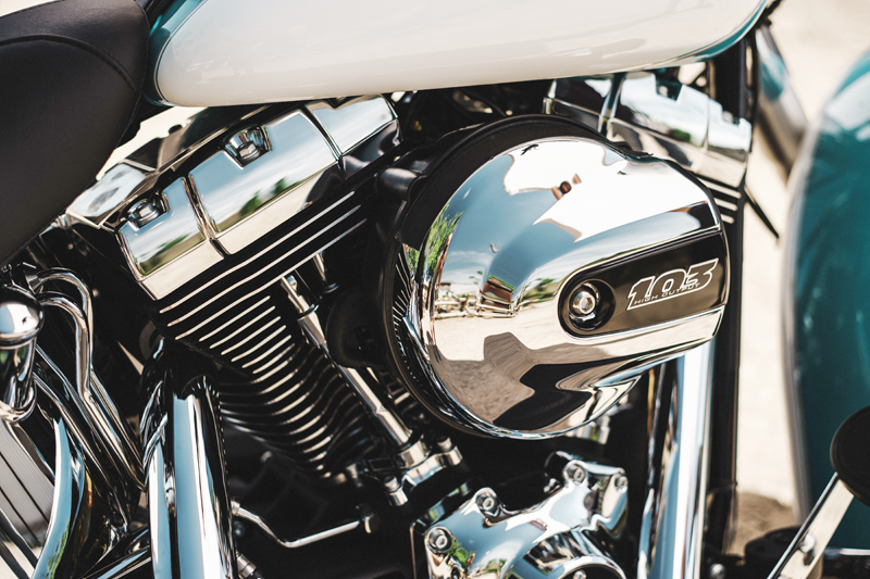 review 2016 harley davidson heritage softail classic air cleaner