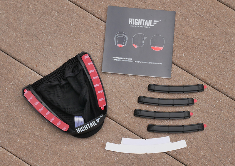 hightail bike hair protector eliminates tangles wind damage parts