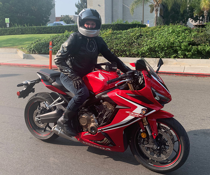 reader story back to life honda cbr650r red motorcycle