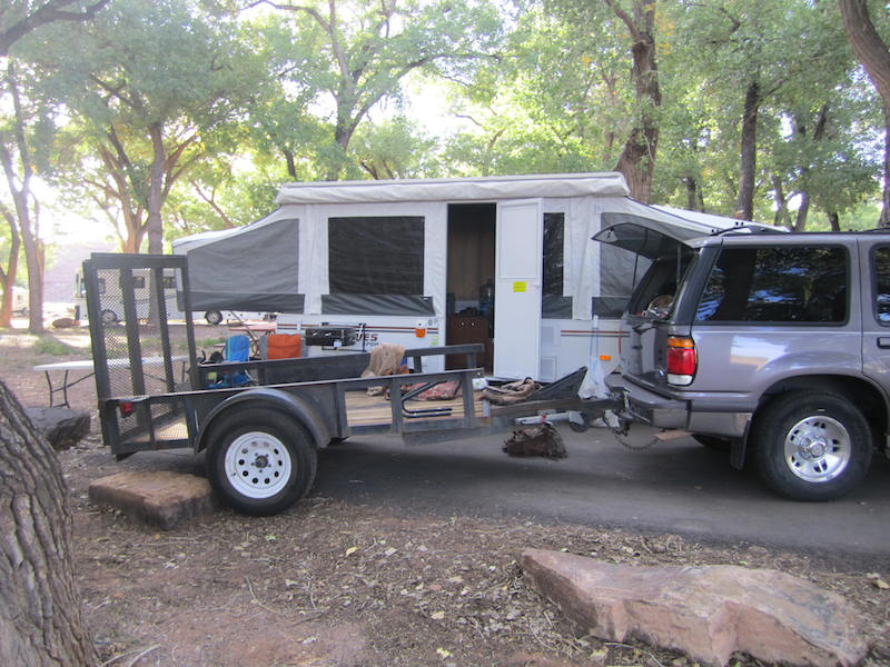 Backroads With Betsy Riding the Rez Part 1 camper