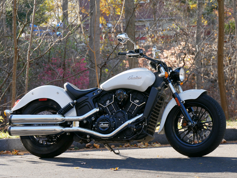 review 2016 indian motorcycle scout sixty pearl white