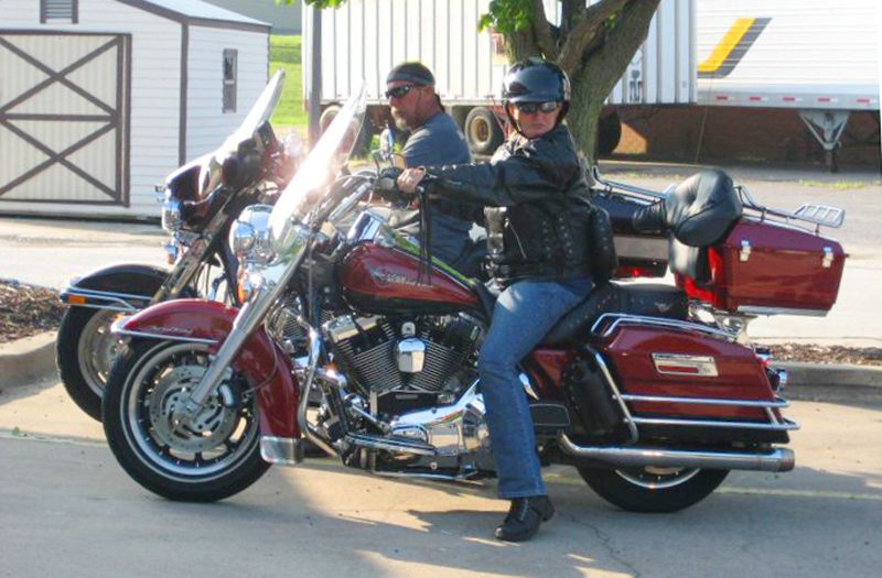 Motorcycle Riding Family Carries on the Touring Tradition Road King