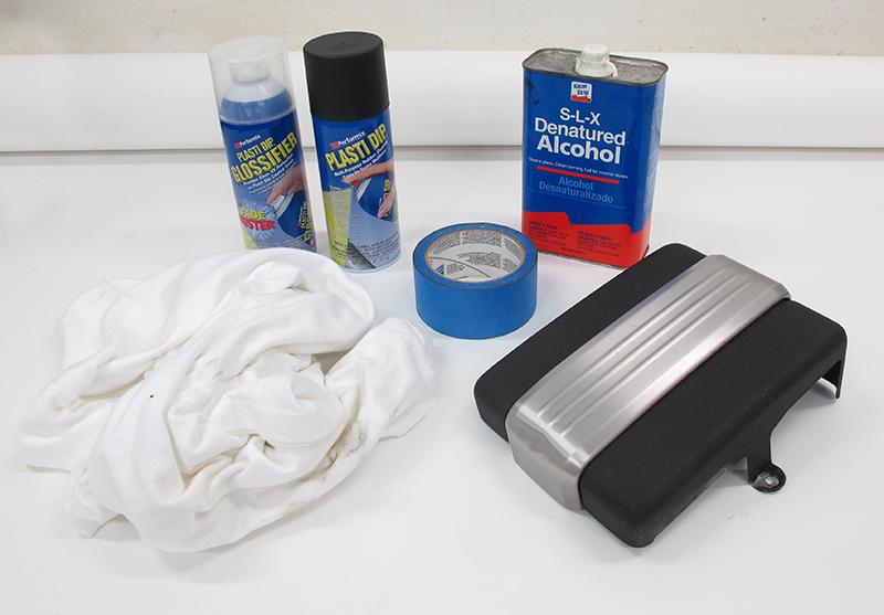 plasti dip easy cheap project diy color motorcycle parts supplies