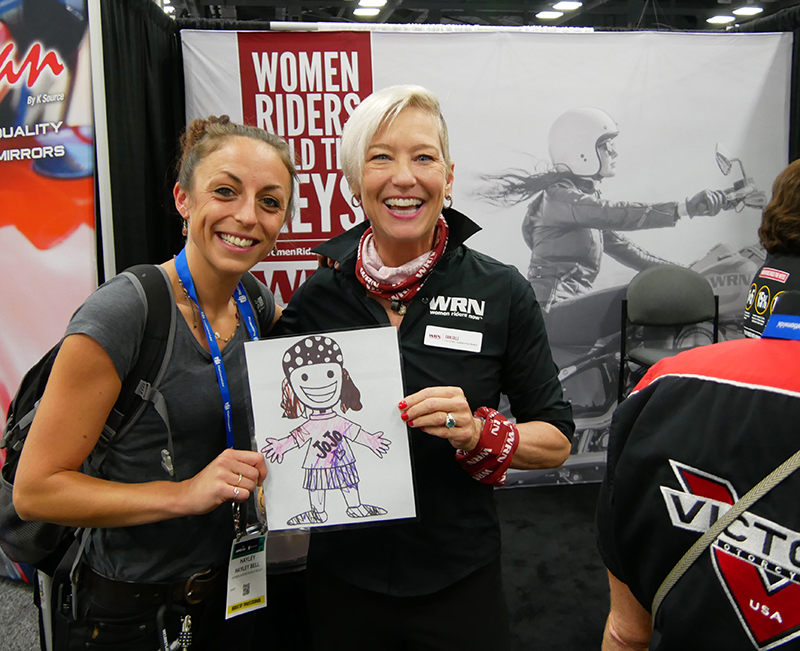 The Women Riders World Relay WRWR Hits the American Road Erin Sills Hayley