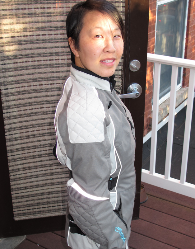 review three season textile jacket from scorpion zion