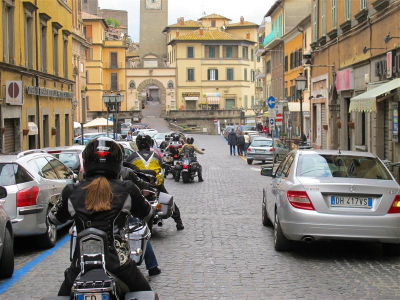 postcards from italy cobblestone street