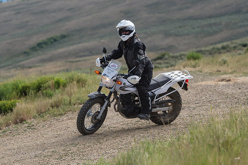 adventure rider advwoman rally yamaha xt250 practice dirt bike
