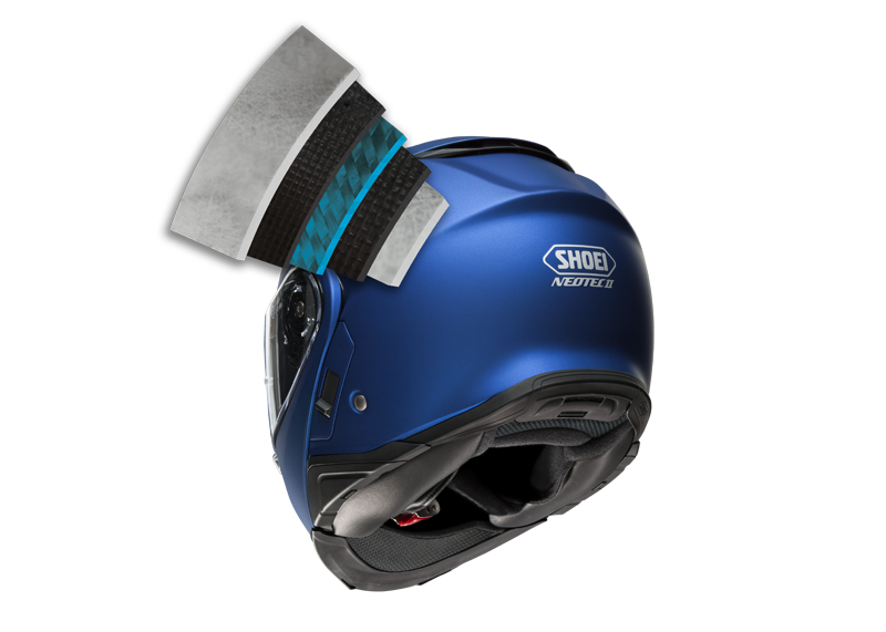 review shoei neotech ii with sena srl communication system layers
