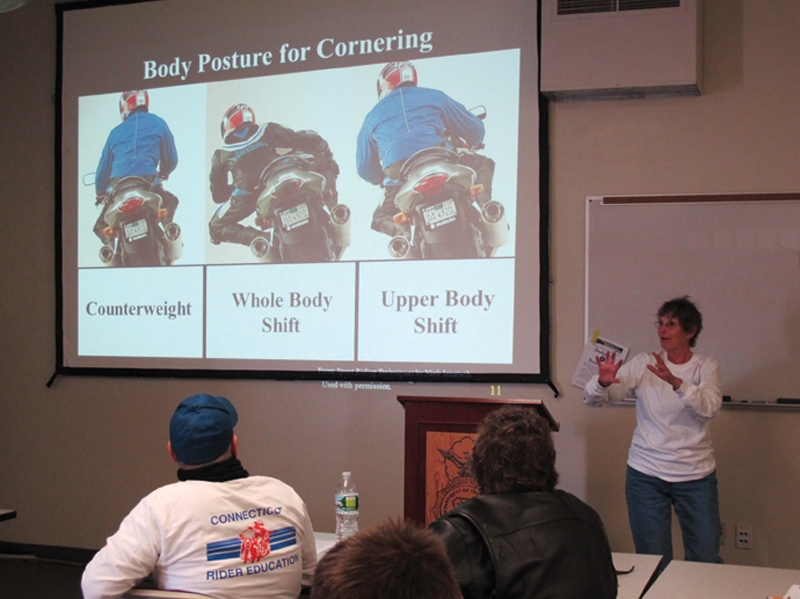 one day class for experienced riders msf advanced ridercourse classroom