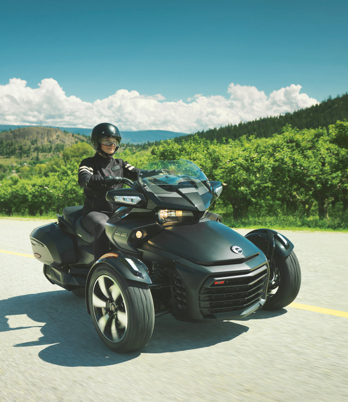 7 rules to live by on your motorcycle spyder f3-t