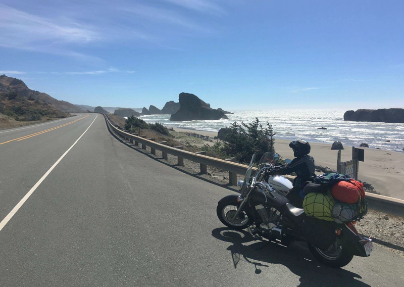 lessons learned motorcycle touring with your best riding partner highway 1