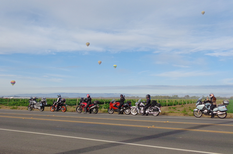 group riding etiquette 10 rules to live by parked motorcycles