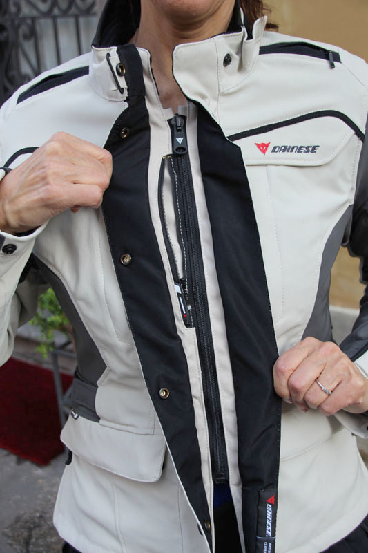 review dainese gore-tex jacket and pants review front zipper
