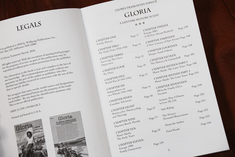 book_review_gloria_lifetime_motorcyclist_contents