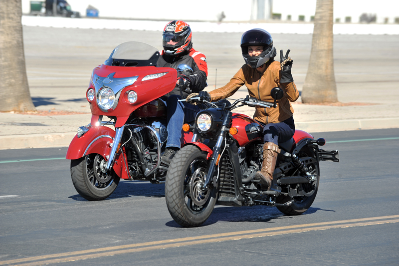 review 2018 indian scout bobber his and hers