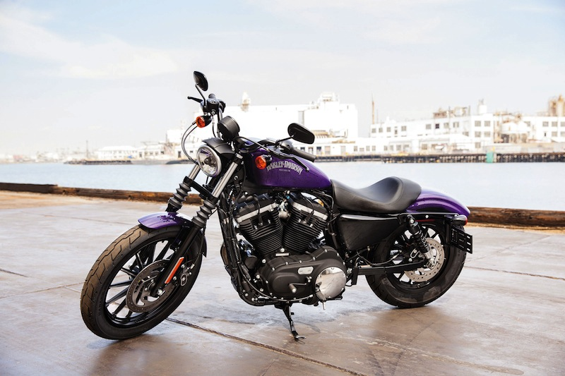 Upgrades Harley-Davidson Sportsters 2014 Hard Candy Voodoo Purple Flake