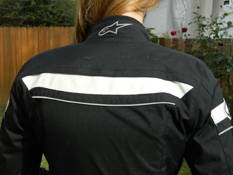 Alpinestars Stella T-Fuel Jacket Review Back Vent