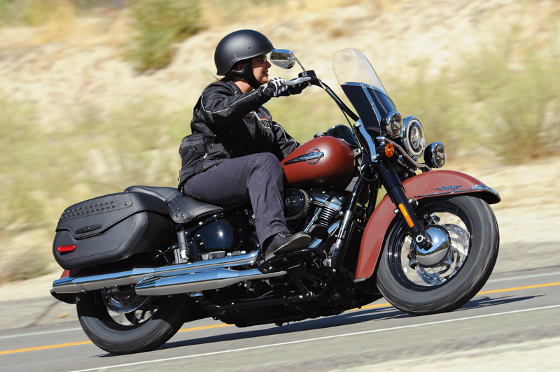 review 2018 harley-davidson softails heritage test drive