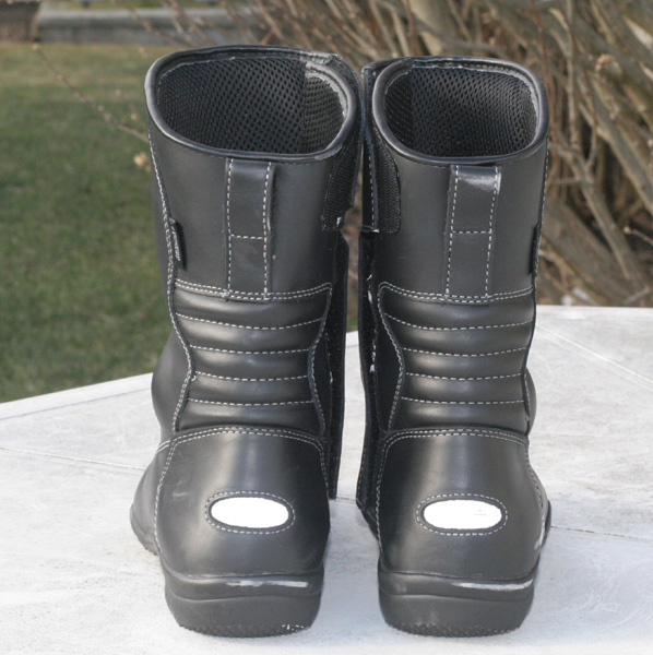 Tour Master waterproof boots review backside