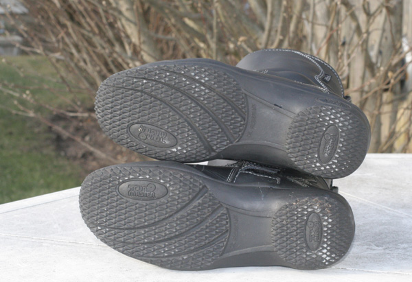 Tour Master waterproof boots review soles