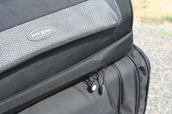 review iron rider luggage zippers