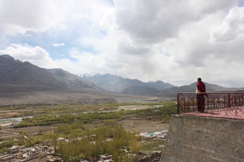 Backroads with Betsy Motorcycling in the Himalayas Buddhist monk home