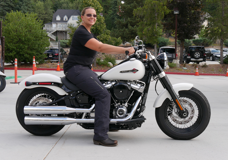 review 2018 harley-davidson softails slim seat height