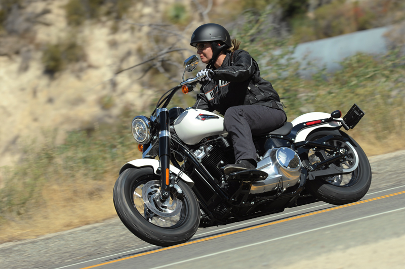 review 2018 harley-davidson softails barry white