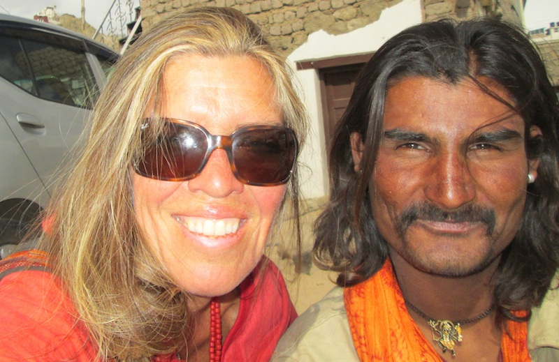 Backroads with Betsy Motorcycling in the Himalayas handsome man
