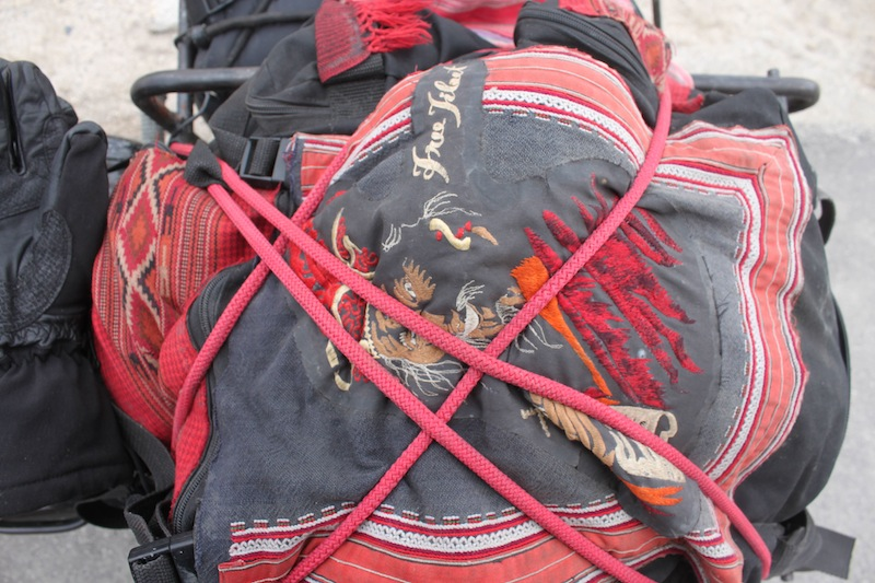 Backroads with Betsy Motorcycling in the Himalayas free Tibet patch