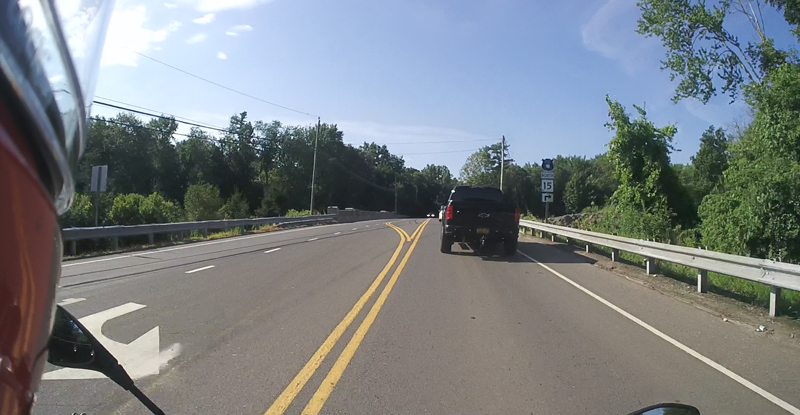 10 lane positioning tips motorcycle following distance