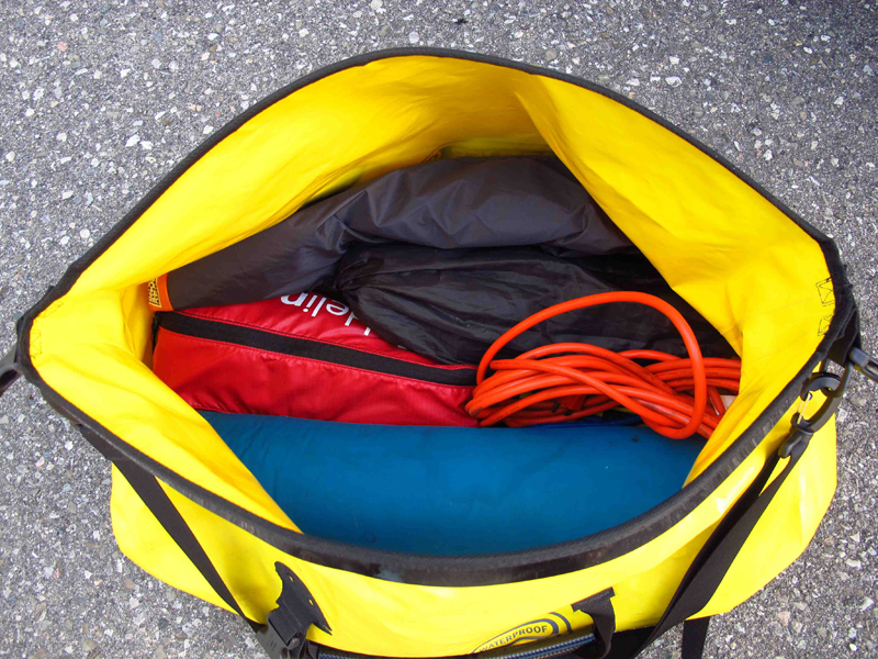 review waterproof duffle bag for motorcycle travel