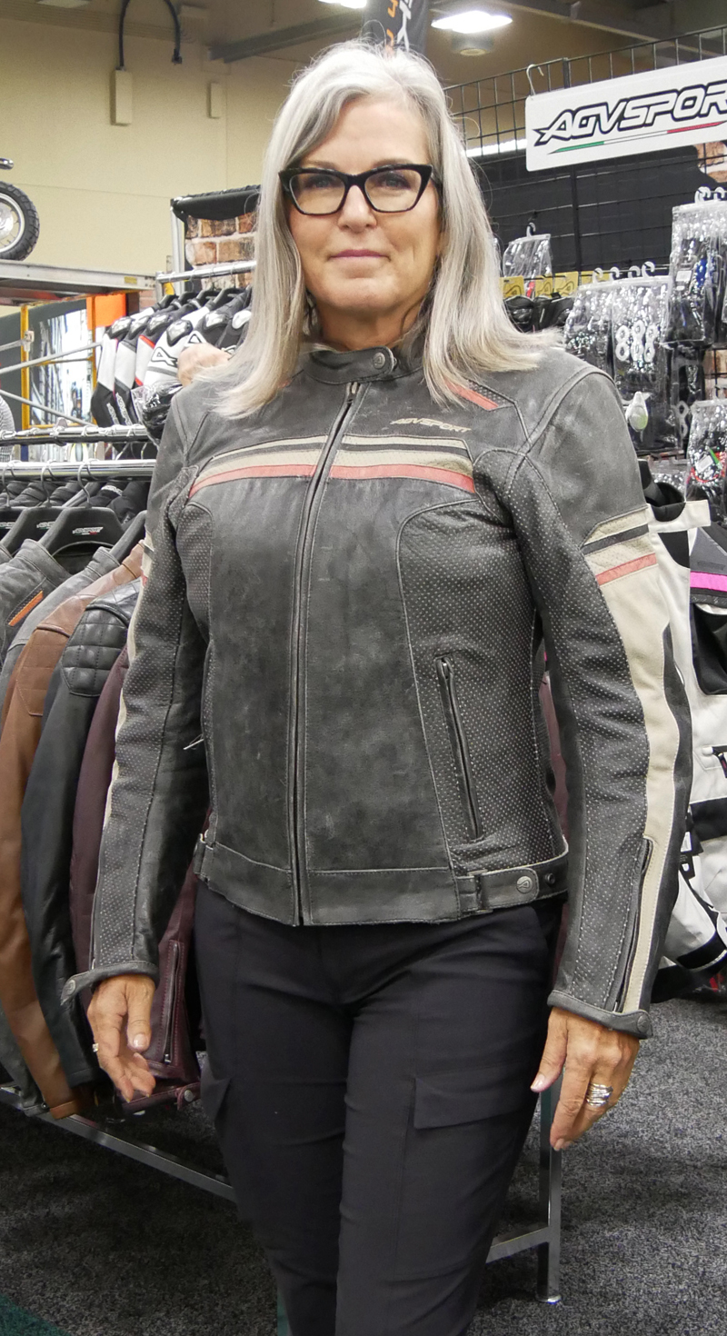 Women's Favorite Riding Gear, Products, and Accessories_leather jacket_AGVSport