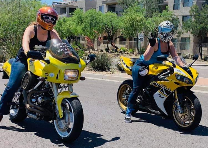 learning to ride and immediately racing the bonneville salt flats international female ride day