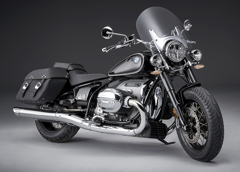 BMW touring model new R 18 classic cruiser