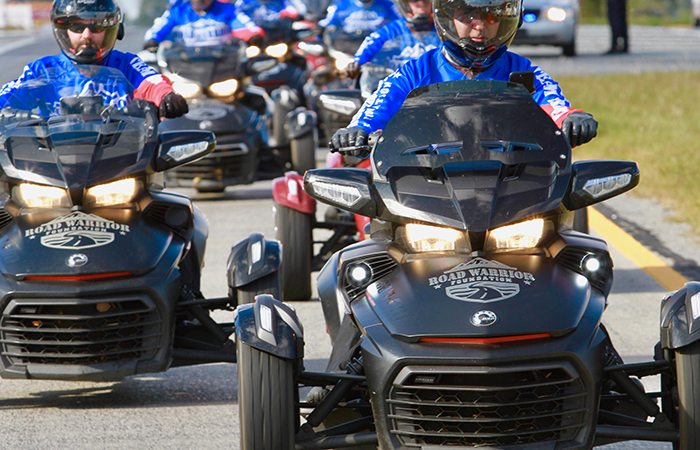 how a ride on a can-am spyder changed one female veterans life road warriors