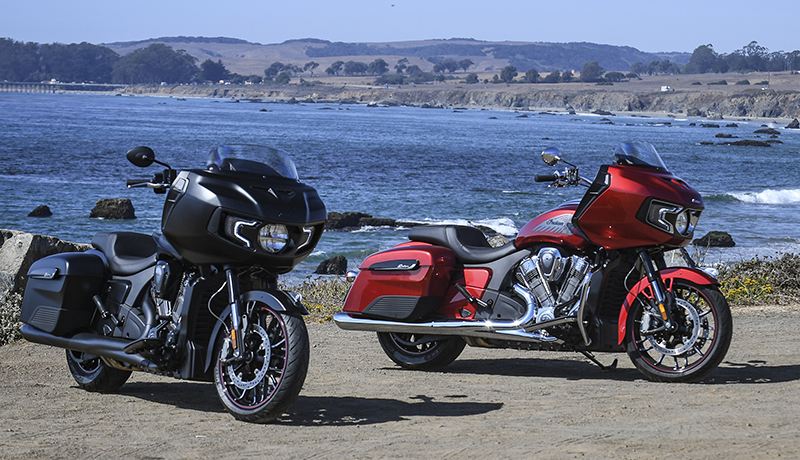 review 2020 indian motorcycle challenger limited dark horse