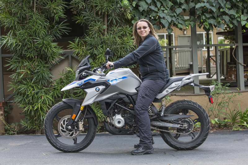 review bmw g 310 gs entry level dual sport seat height
