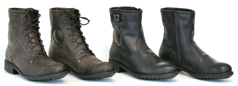 gear review tcx womens cafe race vintage motorcycle boots group