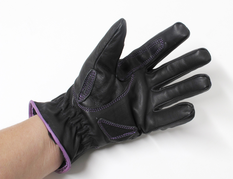 review comfortable functional inexpensive womens motorcycle gloves palm