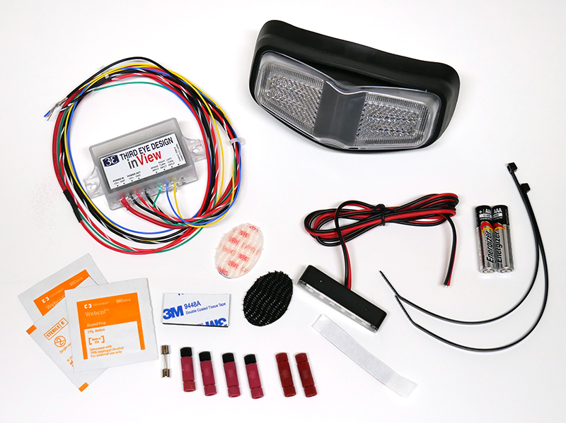 inview turn signal brake light led parts included