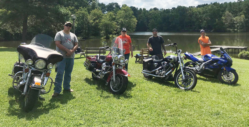 Motorcycle Riding Family Carries on the Touring Tradition family