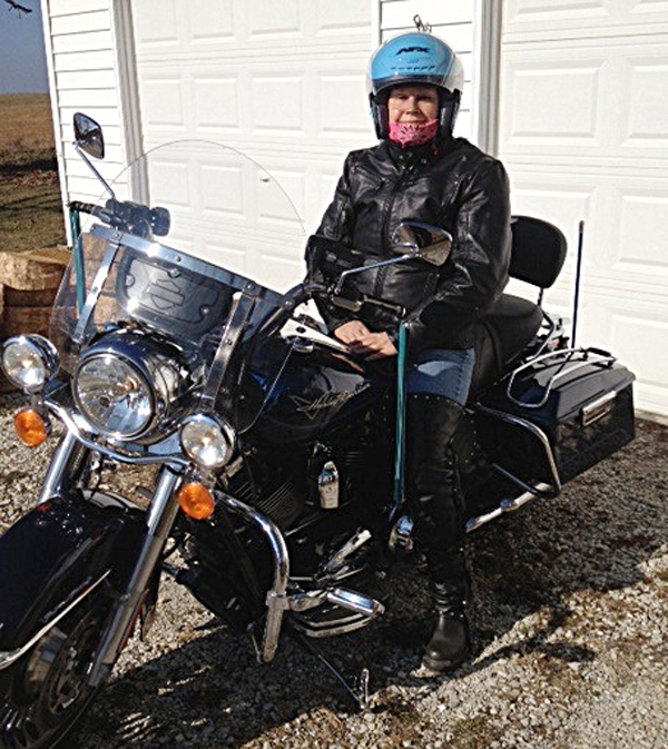 grandma rides a road king and finds courage along the way harley road king