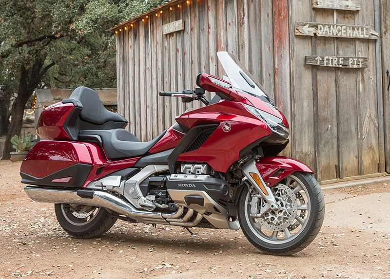 what we love about the new 2018 honda gold wing touring motorcycle profile