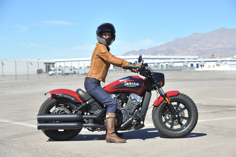 review 2018 indian scout bobber seat height