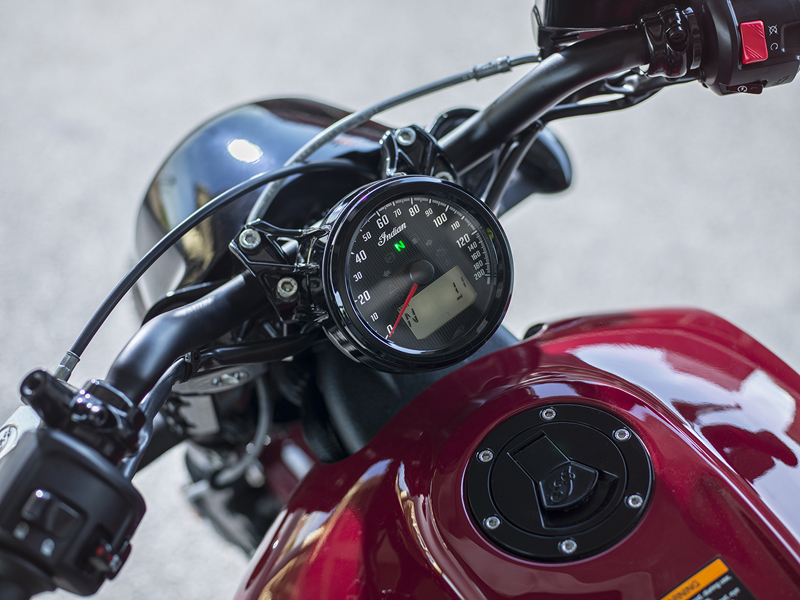 less is more indian scout bobber dash