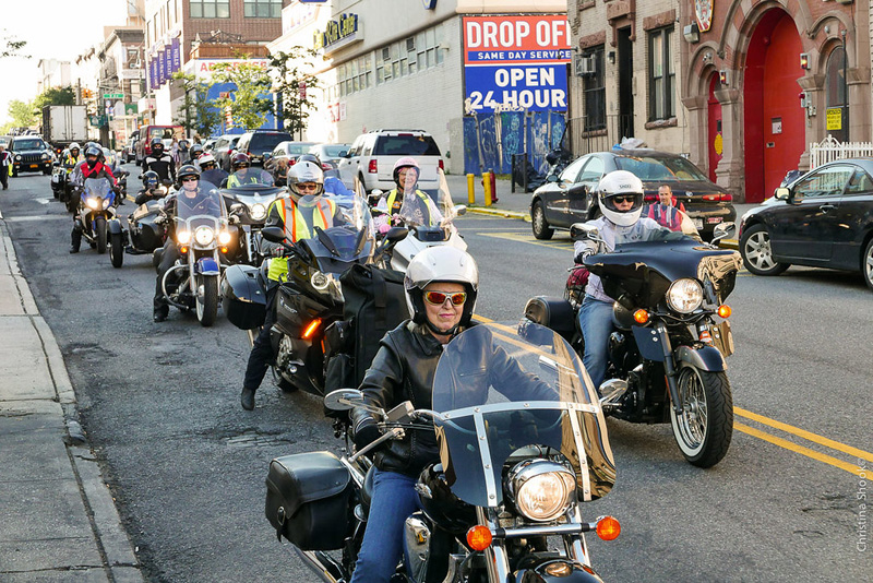 large scale womens motorcycle ride wraps up in san francisco springfield massachusettes